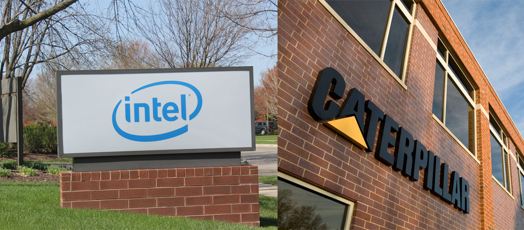 Intel & Caterpillar for Web