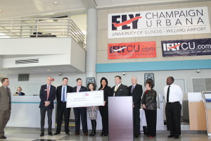 Champaign County Association of REALTORS® Check Presentation